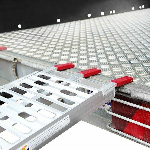 motorrad schiene alu bis 500 kg klappbar rampe f r. Black Bedroom Furniture Sets. Home Design Ideas