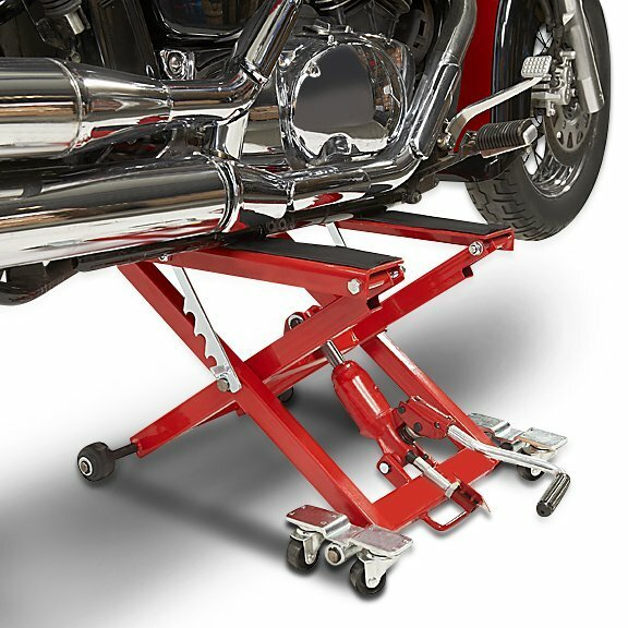 Hydraulic Motorcycle Stand : Motorcycle jack lift hydraulic stand center