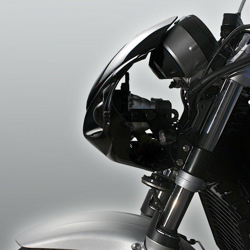 streetfighter headlight sh hyosung gt 125 naked ebay. Black Bedroom Furniture Sets. Home Design Ideas