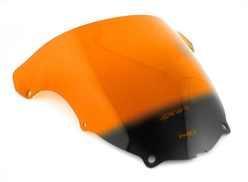 Standardscheibe Puig Kawasaki ZX-6R 03-04 orange