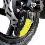 Bremsscheibenschloss Ducati Hypermotard 939 16-17 Artago 30x14 Alarm + Haltesatz K402 Pic:2