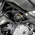 Bremsscheibenschloss Ducati Hypermotard 939 16-17 Artago 30x14 Alarm + Haltesatz K402 Pic:1