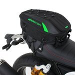 Motorcycle Tail Bag Bagster Spider 4899V 15-23 liters green