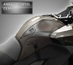 Copri Serbatoio Bagster Harley Davidson Sportster 883/ 1200/ Custom/ Roadster/ R/ Low 04-07 antracite Pic:1