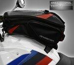 Copri Serbatoio Bagster Harley Davidson Sportster 1200 Custom (XL 1200 C) 04-07 antracite Pic:5