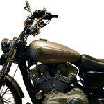 Copri Serbatoio Bagster Harley Davidson Sportster 1200 Custom (XL 1200 C) 04-07 antracite Pic:1