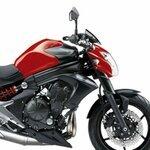 Copri Serbatoio Bagster Kawasaki ER-6 N 2013 rosso/nero opaco Pic:1