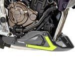 Bugspoiler Yamaha MT-07 16-18 grau/ gelb Sportsline Bodystyle