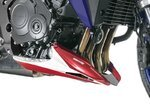 Bugspoiler Bodystyle Honda CB 1000 R 11-16 weiss rot (tricolor)