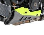 Bugspoiler Yamaha MT-10 16-18 grau/ gelb Sportsline Bodystyle