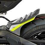 Hinterradabdeckung Bodystyle Yamaha MT-10 16-18 grau/ gelb