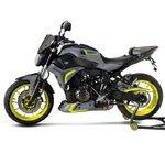Kühlerseitenverkleidung Bodystyle Yamaha MT-07 16-17 grau/ gelb Pic:1