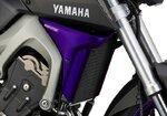 Radiator Side Cover Bodystyle Yamaha MT-09 14-15 purple (deep amor)