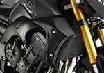 Kühlerseitenverkleidung Bodystyle Yamaha FZ8 10-15 schwarz