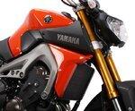 Kühlerseitenverkleidung Bodystyle Yamaha MT-09 14-15 orange Pic:2