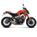 Kühlerseitenverkleidung Bodystyle Yamaha MT-09 14-15 orange Pic:3