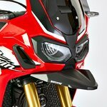 Bead Extension Honda Africa Twin CRF 1000 L 16-18 Bodystyle black mat
