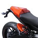 Soziusabdeckung Bodystyle Yamaha MT-09 14-15 orange