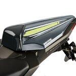 Soziusabdeckung Bodystyle Yamaha MT-07 16-17 grau/ gelb