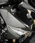 Radiator Side Covers Kawasaki Z 1000 07-09 Carbon