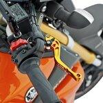 V-Trec Bremshebel + Kupplungshebel Set kurz / lang mit ABE Honda CB 1000 R 08-16 Pic:9