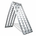 Aluminium Loading Ramp Constands V, max. 750 kg, folding, for Motorcycle, Scooter, Quad, ATV