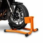 ConStands Motorcycle Paddock Stand Wheel Chock Easy Orange