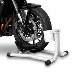 Motorcycle wheel chock ConStands Easy White