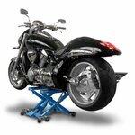 Motorrad Hebebühne Scherenheber Hydraulik-Lift ConStands XL blau