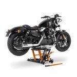 Jack Scissor Hydraulic Lift ConStands L black-orange