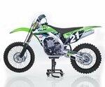 ConStands MX Ständer Mover Rangierhilfe für Motocross, Supermoto, Enduro, Trial schwarz