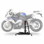 Motorrad Zentralständer ConStands Power BMW S 1000 RR 09-13, Adapter+Rollen inkl. schwarz matt