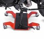 Rangierhilfe für Hauptständer ConStands Mover II, max. 320 kg, rot Pic:1