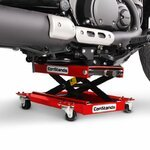 Motorrad Rangierhilfe Hebebühne Lift ConStands M rot Pic:7