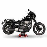 Motorrad Rangierhilfe Hebebühne Lift ConStands M rot Pic:3