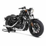 Motorrad Montageständer Hinterrad ConStands Vintage schwarz Pic:3