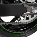 Motorrad Prismabuchsen-Racingadapter Racetecs Assen M8 schwarz Pic:1