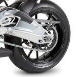 Motorrad Prismabuchsen-Racingadapter Motea Jerez M6 schwarz Pic:3