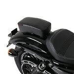Sozius Saugnapf Sitzpad für Custom Bikes schwarz