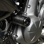 Sturzpads Kawasaki ER-6n 05-11 / Versys 650 05-14 Carbon