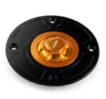 Fuel cap Suzuki -03 black/gold