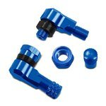 Motorcycle Angle valve 90 degree 8,3 mm blue