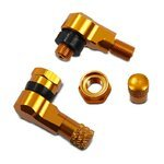 Motorcycle Angle valve 90 degree 8,3 mm gold