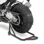 Motorcycle Tyre Warmers ConStands Superbike 60-80 C Set Black