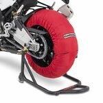 Motorrad Reifenwärmer ConStands Superbike 60-80 °C Set Rot