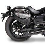 Motorrad Satteltasche für Custom Bikes Arizona schwarz rechts