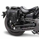 Motorrad Satteltasche für Custom Bikes Montana schwarz rechts Pic:1