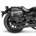 Motorrad Satteltasche für Custom Bikes Montana schwarz rechts