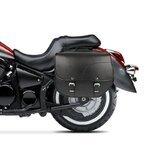 Chopper Überwurf Satteltaschen Craftride Kentucky 30l schwarz Pic:1