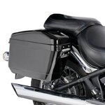 Hartschalenkoffer + Träger Easy Honda Shadow 750 Black Spirit (VT C2B) 10-16